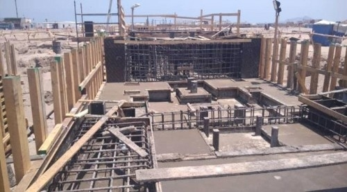 إنجاز 65 % من محطة كهرباء عدن الجديدة