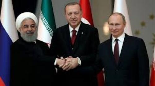 زعماء روسيا وتركيا وإيران يجتمعون لإنهاء الصراع السوري