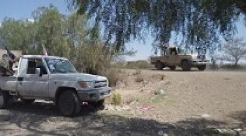 انسحاب شامل لمليشيات الحوثي في مديرية الحشاء محافظة الضالع