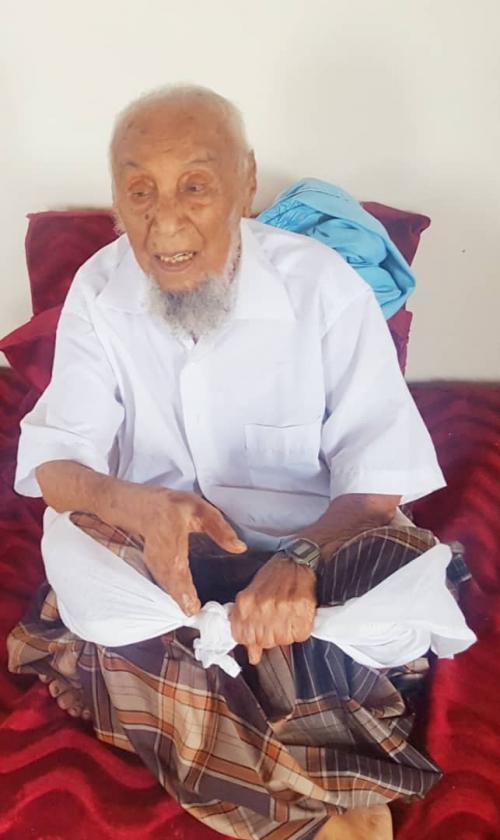 انتقالي ميفعة بشبوة يعزي في وفاة الشخصية الاجتماعية الشيخ أحمد بن سالم بن رشيد.