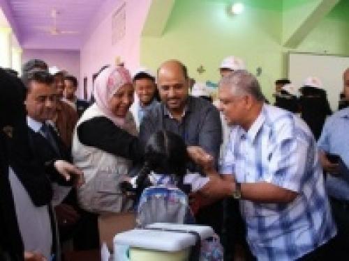 تطعيم أكثر من 178 ألف طفل ضد الحصبة خلال 3 أيام في ساحل حضرموت