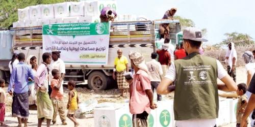 مركز الملك سلمان للإغاثة يواصل مشروعاته الإنسانية في اليمن وبلوشتان