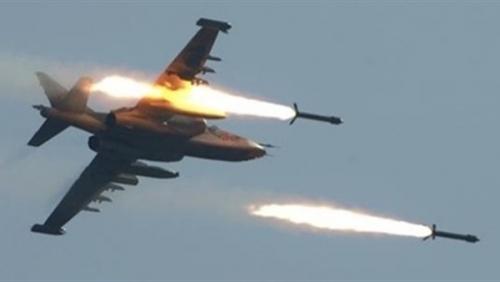 مقاتلات التحالف تدك مخازن وتعزيزات حوثية ومركز قيادة في الجوف و صعدة