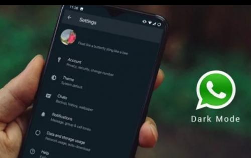 تعرف على طريقة تشغيل الوضع المظلم في واتس آب Whatsapp