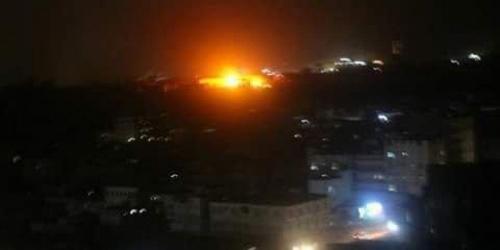 تفاصيل الإنفجارات التي هزت العاصمه صنعاء قبل قليل