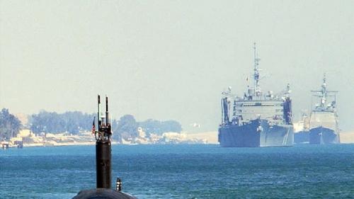 تدريبات عسكرية للجيش المصري في البحر الأحمر