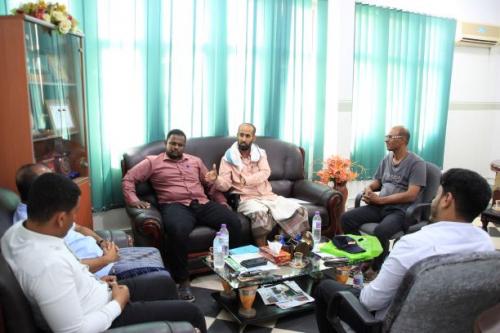 نائب رئيس غرفة تجارة وصناعة حضرموت يلتقي مؤسسة صنائع المعروف الإنسانية