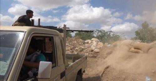الحوثي يشعل معركة ببيت مغاري تنتهي بانكسار مليشياته