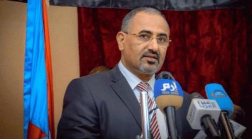 """الرئيس الزبيدي: لا أتوقع استمرار شراكة """"الإخوان"""" في الحكومة اليمنية"""