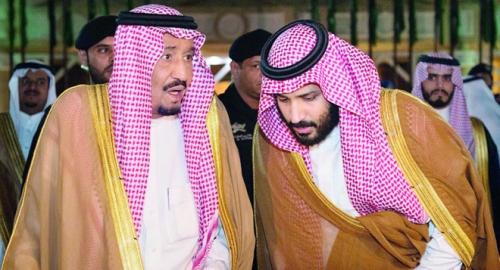 امر ملكي سعودي بإنابه الأمير محمد بن سلمان لإدارة شؤون الدولة