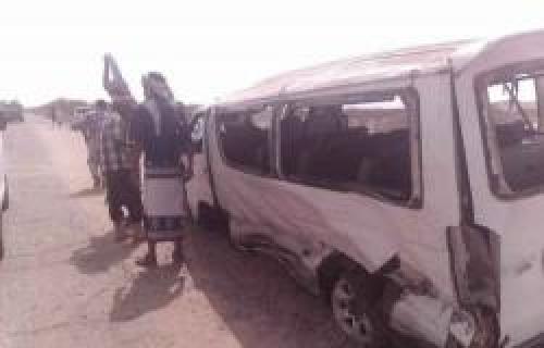 مصرع 4 أشخاص إثر حادث مروري في أبين