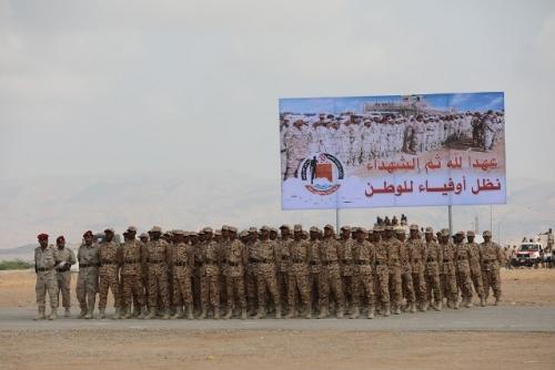 ناطق العسكرية الثانية الجابري : كانت الفرحة أكبر بنجاح قواتنا في فرض الامن والاستقرار مابعد التحرير وتهيئة التنمية بالبلاد.