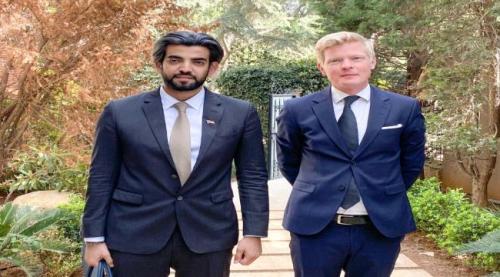 تفاصيل.. الممثل الخاص للرئيس الزُبيدي يلتقي رئيس بعثة الاتحاد الأوروبي