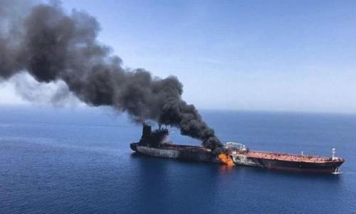 """سفينة """"ايرانية"""" تتعرض للتفجير بالقرب من سواحل اريتيريا بالبحر الاحمر"""