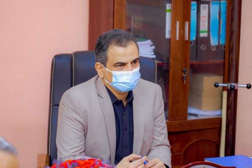 عاجل.. محافظ العاصمة عدن يوجه مكتب الصحة بمتابعة احتياجات مركز الامل والرفع فيها بصورة عاجلة.