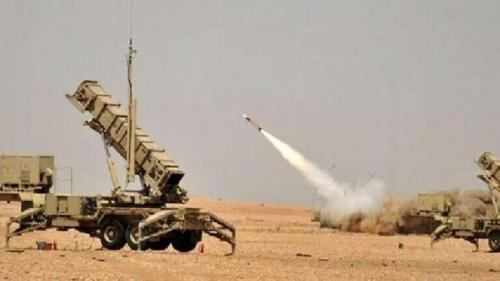 التحالف العربي/ اعتراض طائرة مسيرة أطلقتها الميليشيات الحوثية باتجاه خميس مشيط