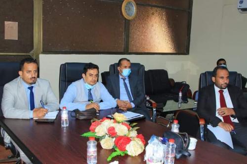 الوزير السقطري يلتقي المدير التنفيذي لبنك التسليف التعاوني الزراعي