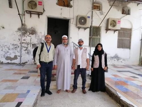 مبادرة هويتي تدين محاولات البسط على مسجد جوهر التاريخي في كريتر