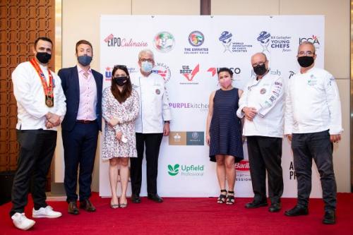 """UPFIELD شيف طيران الاتحاد  تحصل على المركز الأول عن فئة الحلويات النباتية في مسابقة """" صالون كولينير الإمارات"""""""