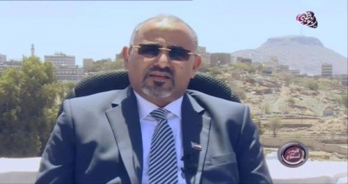 """شاهدبالفيديو.. حديث الرئيس الزُبيدي لبرنامج """"اليمن في أسبوع"""" على قناة """"أبوظبي"""" الفضائية من يافع"""