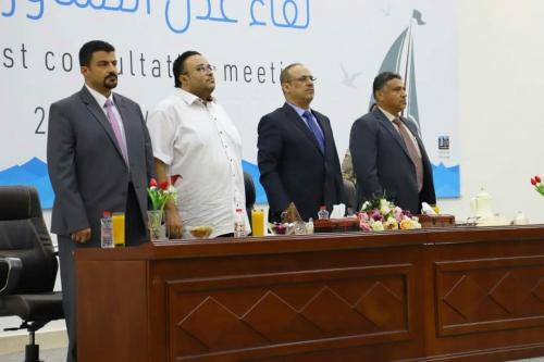 مشاركون يتهمون الوزير الميسري باستخدام لقاء عدن التشاوري ورقة للمماحكة السياسية والمتاجرة بإسم المدينة