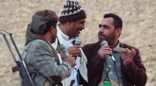 كوميديو الإخوان.. ضباط في التوجيه المعنوي بجيش #مـأرب