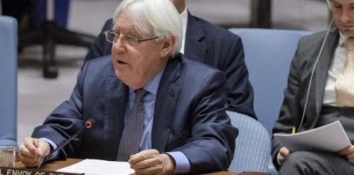 غريفيث يفاجئ اليمنيين بشرعنته لسيطرة الحوثي على الحديدة أمام مجلس الامن