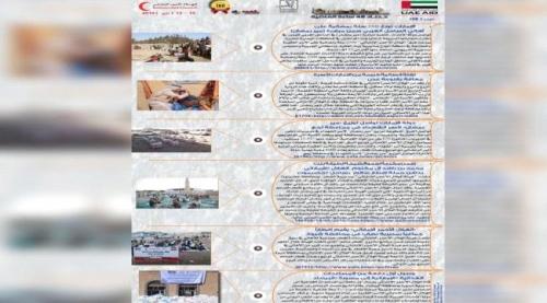 الهلال الامـاراتي .. حصاد العمليات الإنسانية خلال 48 ساعة الماضية (15_13) مايو 2019