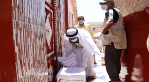 هيئة الهلال الأحمر الإماراتي تكشف إجمالي المساعدات التي وزعتها خلال رمضان في حضرموت