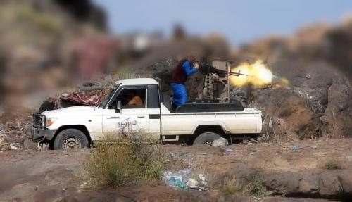 تفاصيل معركة 19 رمضان في جبهة الفاخر شمال الضالع (صور حصرية)
