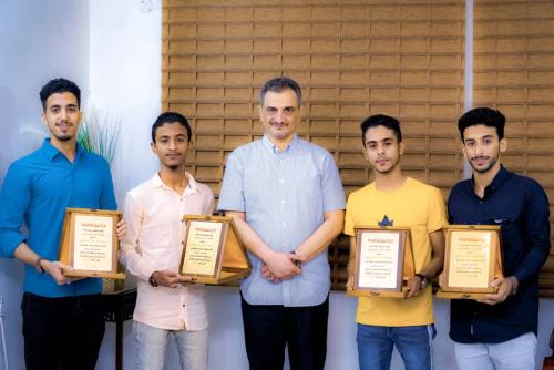 لملس يكرّم أبناء العاصمة عدن الحائزين على المراكز الأولى في مسابقة حفظ القرآن الكريم على مستوى المحافظات المحررة