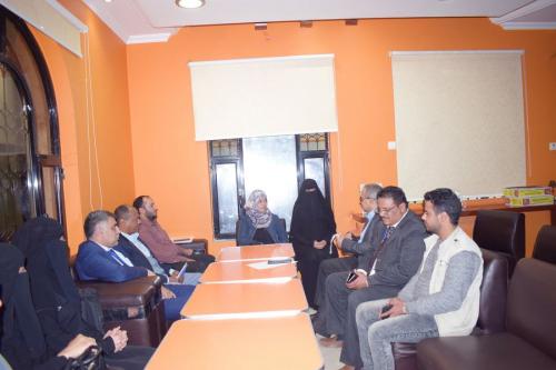 زيارة وفد رئاسة المؤتمر الدولي اليمني الأول للتمكين الاقتصادي للمرأة مؤسسة علا المجد للتنمية