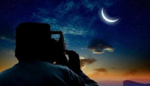 توقع/ مركز الفلك الدولي يحدد موعد عيد الفطر