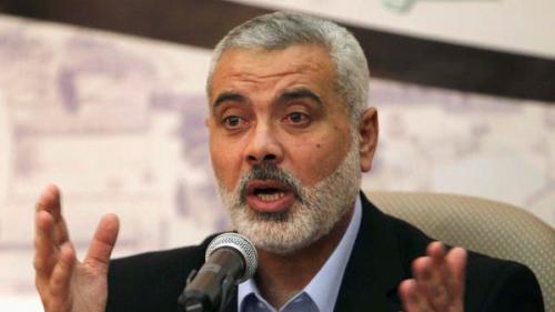 هنية: سنعمل على إعادة إعمار غزة بجهود الخيرين من العرب