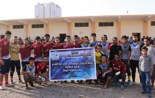 """مؤسسة """"البيئة والقانون"""" تختتم فعاليات دوري كرة القدم الرمضاني، وفريقها يتوج بطل الموسم الأول"""