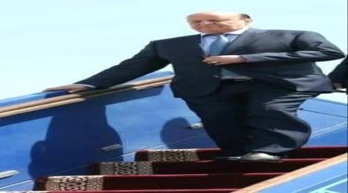 عاجل..الرئيس  هادي يصل إلى عدن