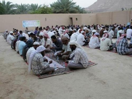 """""""غراس"""" تختتم مشروع إفطار الصائم بوادي حضرموت الممول من جمعية الحكمة"""