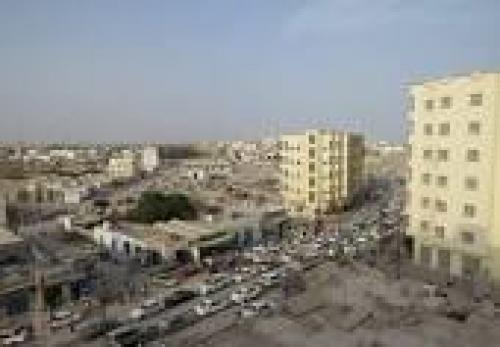 المحافظ سالمين يطلع الوفد السعودي على اضرار السيول في العاصمة عدن