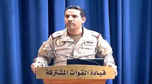 التحـالف العربي يطالب الأمم المتحـدة بالايضاح حول مغزى تسليم الحـوثيين سيارات دفع رباعي