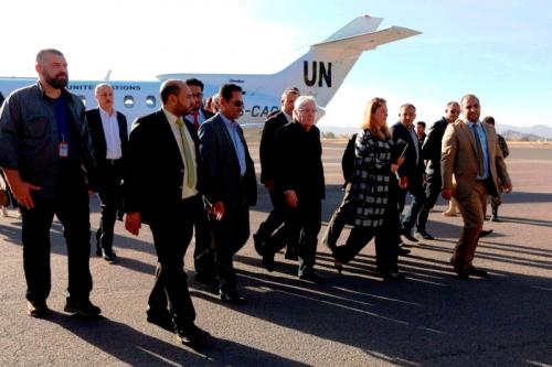 مارتن غريڤيث يصل السعودية لبحث مقترحات أممية جديدة لإيقاف الحرب في اليمن