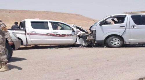 وفاة واصابة 20 في حادث مروري بمنطقة رسب حضرموت