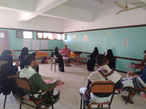 بحضور مدير عام المسيمير اتحاد نساء لحج ينفذ جلستين بؤريتين ل16 مشارك ومشاركة بالمديرية