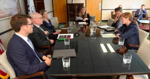 مباحثات أمريكية حول عوائق وصول المساعدات إلى اليمن