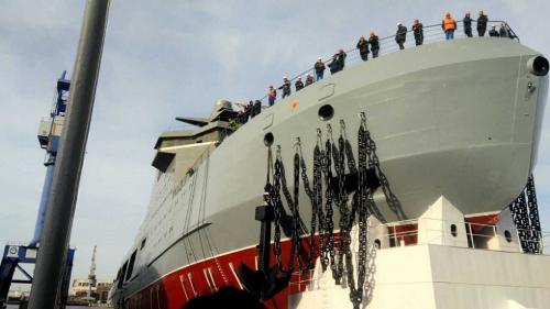 ألمانيا تعزز أسطولها البحري العسكري بسفن استطلاع حديثة