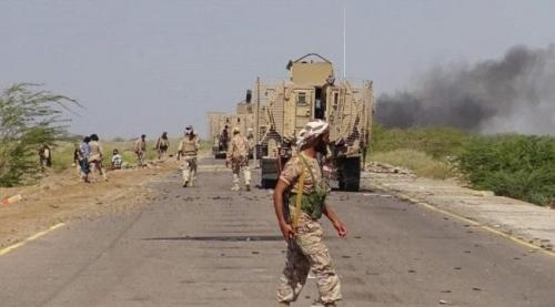 المقاومة تتقدم شمال الحـديدة وتستولي على اسلحة و زوارق للمليشيا