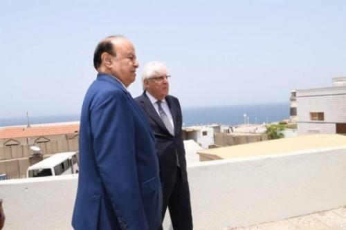 """"""" الشرق الاوسط """" : جولة جديدة للمبعوث الأممي تبدأ الاثنين المقبل بلقاء الرئيس هادي في الرياض"""