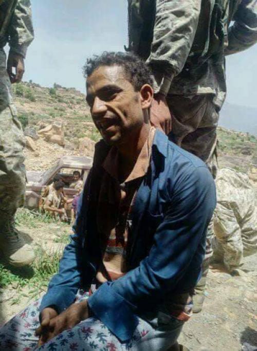 شاهد..  أولى صور إنهيار الحوثيين ووقوعهم في الأسر في معارك شرسة قبل قليل (تفاصيل)
