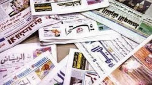 الشأن اليمني في الصحافة الخليجية الصادرة اليوم الاربعاء