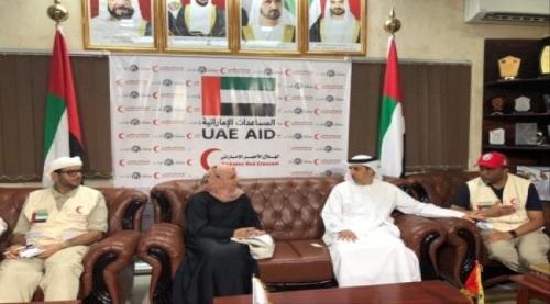 هيئة الهلال الإماراتي تجدد التزامها بتوفير وتلبية المشاريع والاحتياجات العاجلة لليمن
