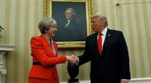 الرئيس الأميركي يصل العاصمة البريطانية لندن